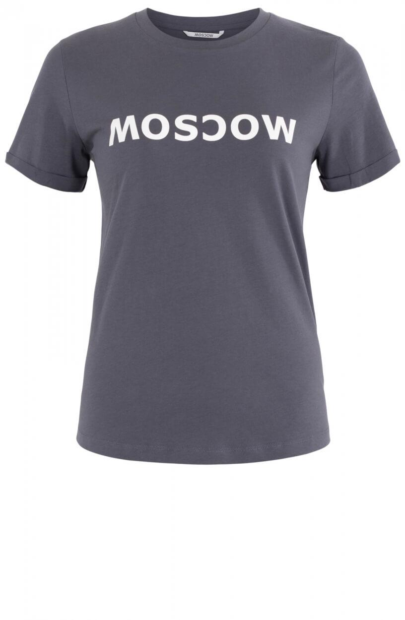 Moscow Dames T-shirt Grijs