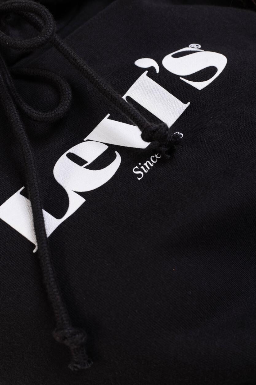 Levi's Dames Logo sweater Zwart