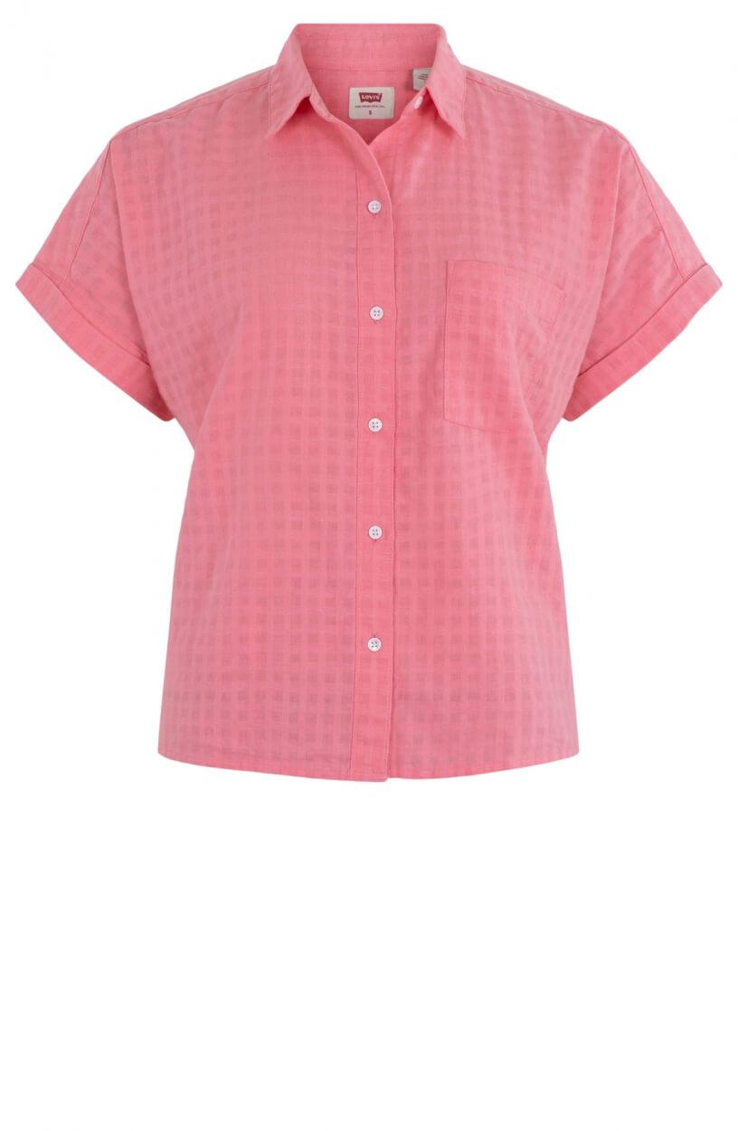 Levi's Dames Linnen blouse Roze