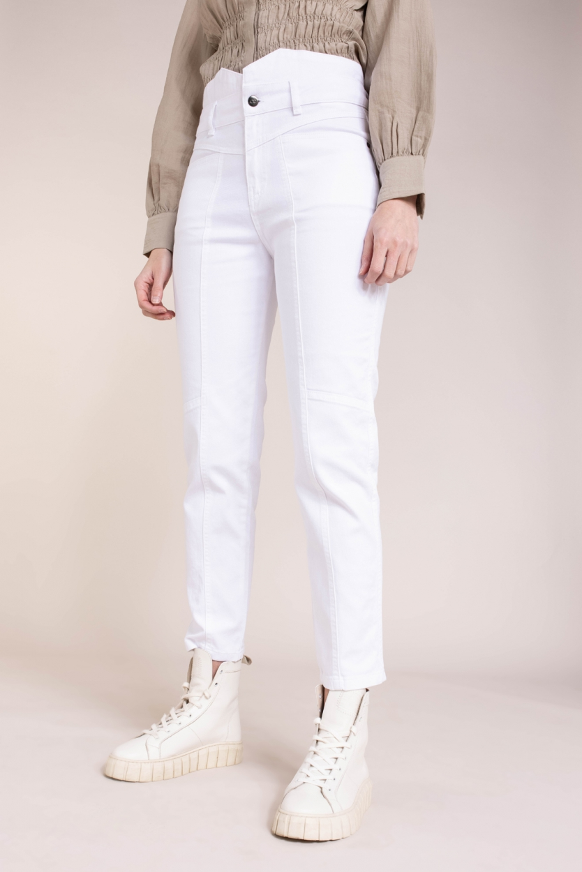 Co Couture Dames Zora jeans Wit