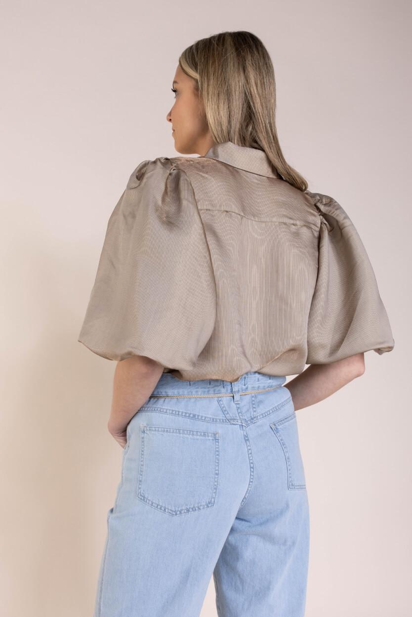 Copenhagen Muse Dames San blouse Bruin