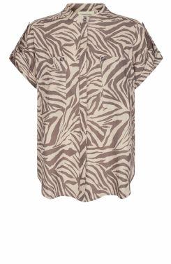 Copenhagen Muse Dames Cargo blouse Bruin