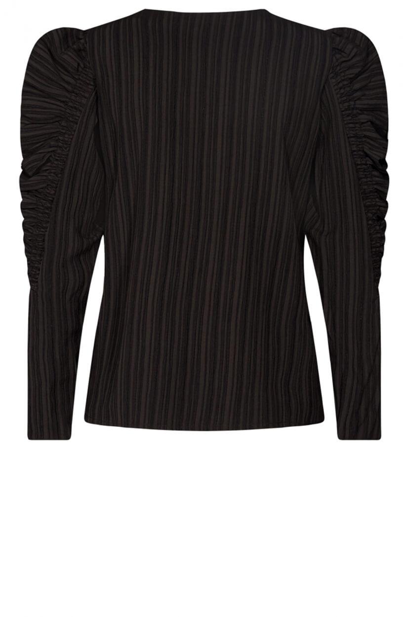Copenhagen Muse Dames Smock V blouse Zwart