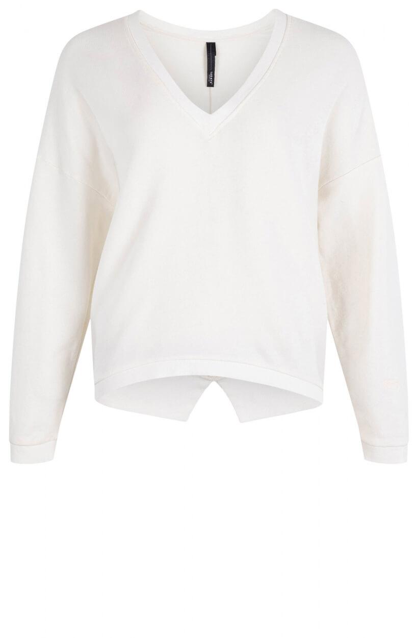 10 Days Dames V-hals sweater Wit
