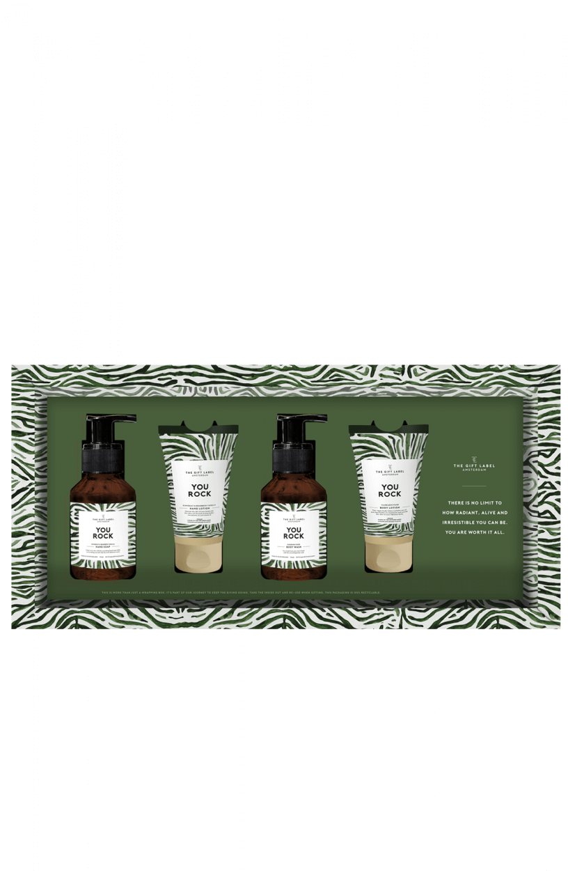 The Gift Label Dames Giftset Groen