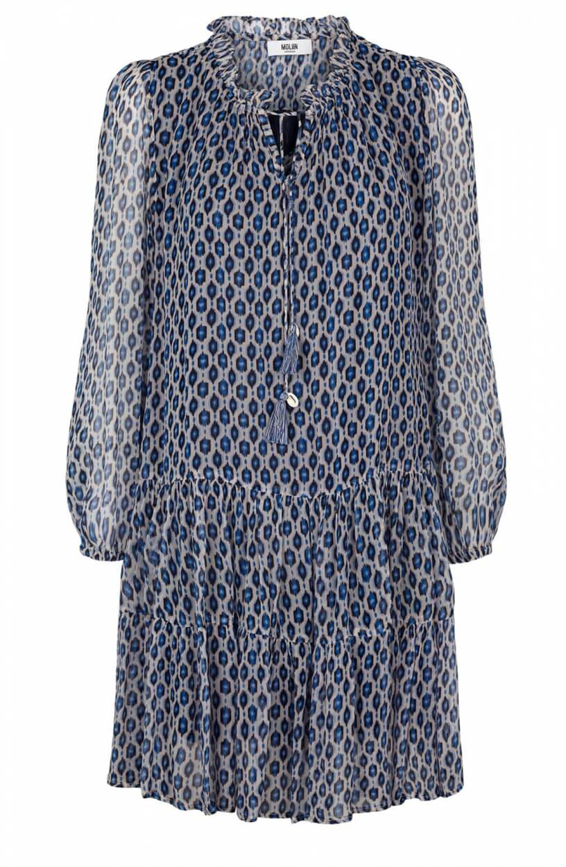 Moliin Copenhagen Dames Rasmine jurk Blauw