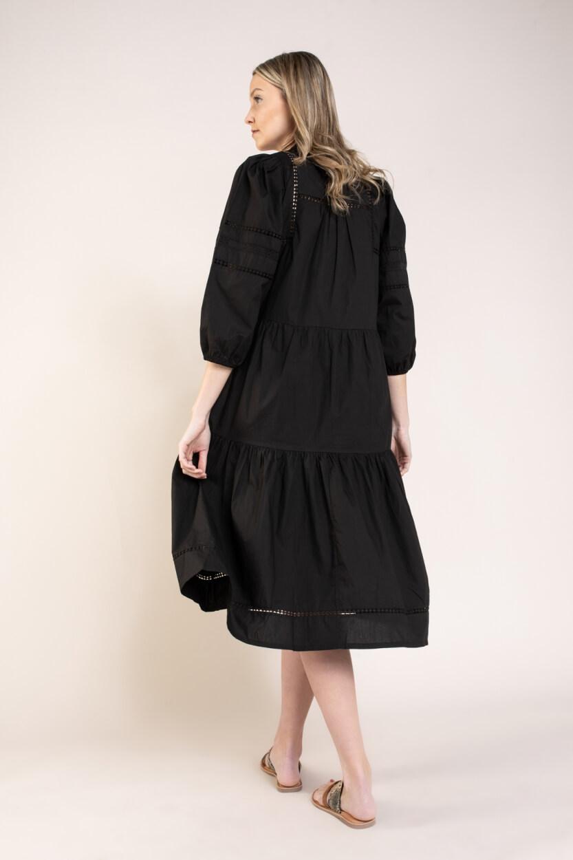 Moliin Copenhagen Dames Nolani jurk Zwart
