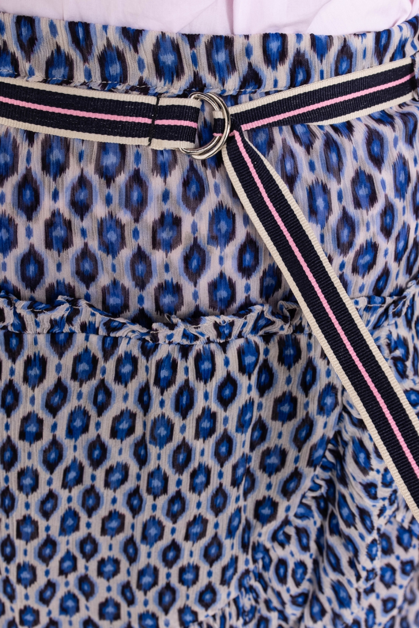 Moliin Copenhagen Dames Dorthe rokje Blauw