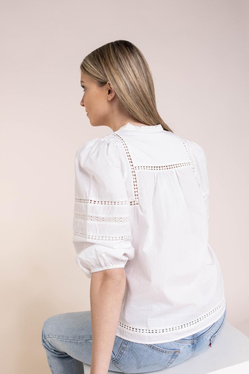 Moliin Copenhagen Dames Jasmine blouse Wit