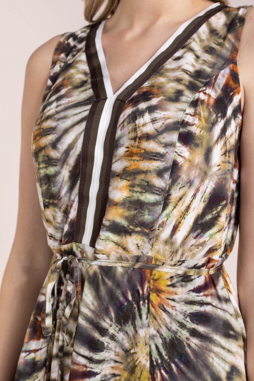 La Fee Maraboutee Dames Lubna jurk Groen