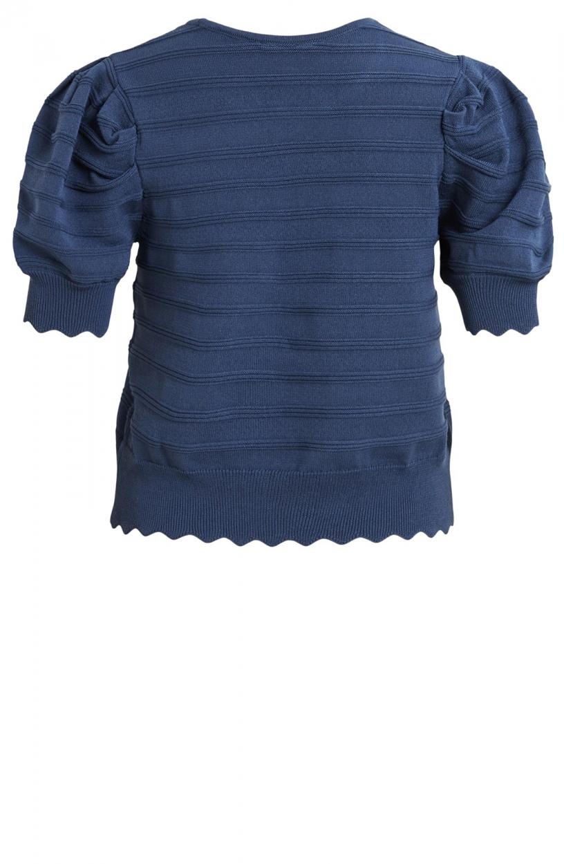 Object Dames Sava pullover Blauw
