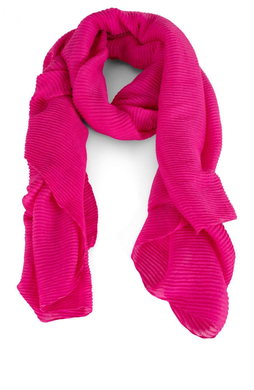 Codello Dames Plissé shawl Roze
