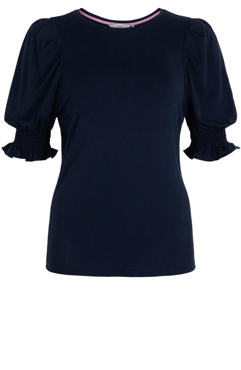 Nümph Dames Nuchanah shirt Blauw