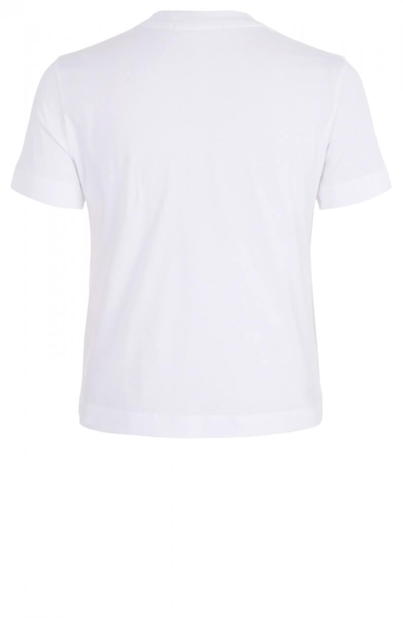 Calvin Klein Dames Shirt met tape Wit