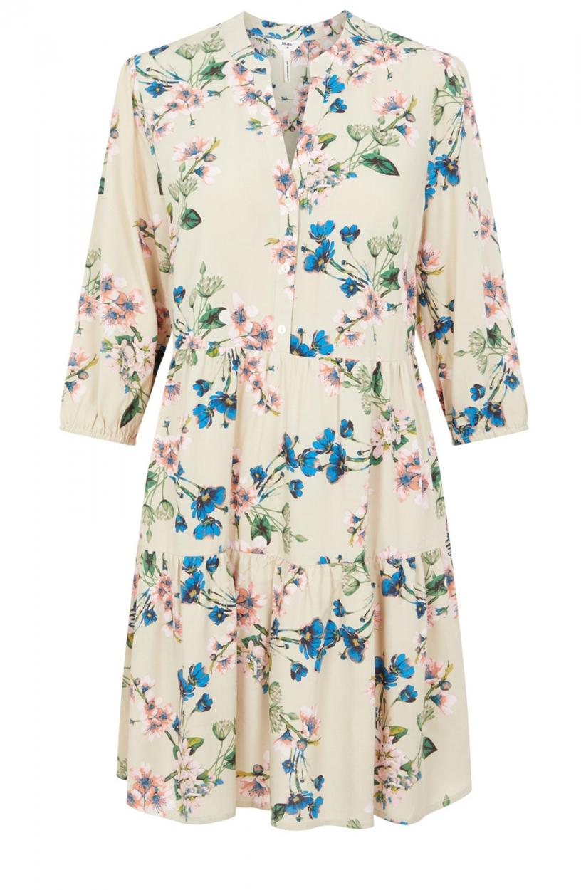 Object Dames Paree jurk Bruin