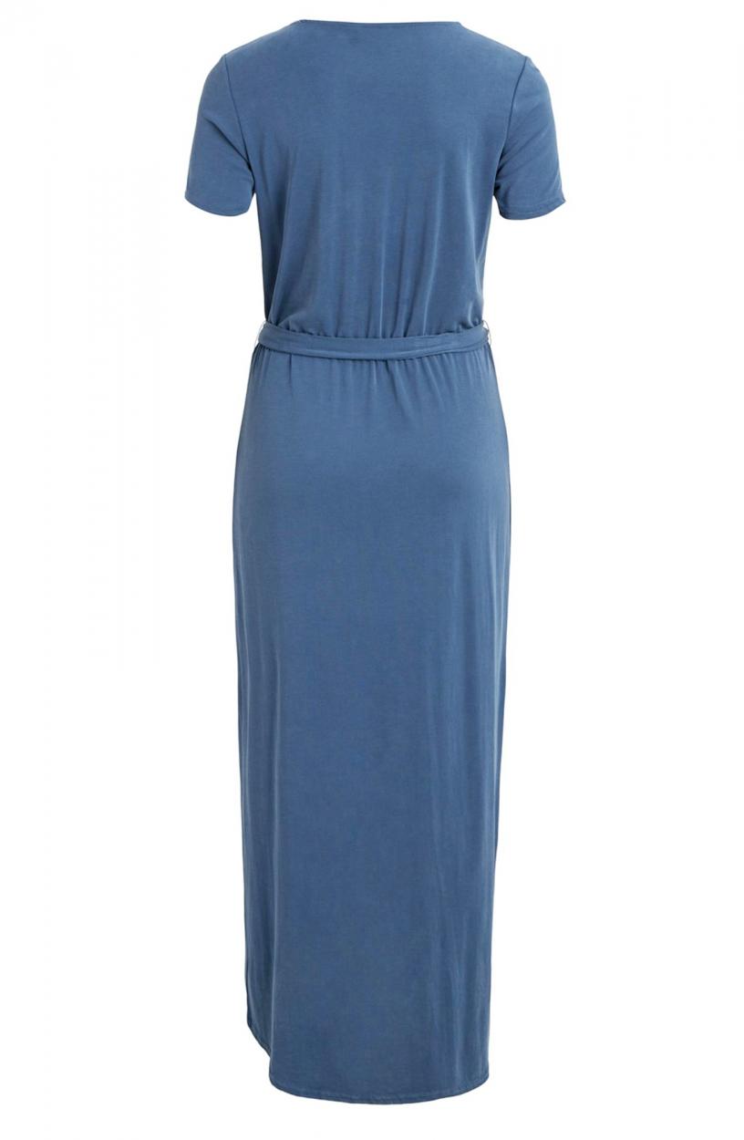 Object Dames Jannie Nadia jurk Blauw