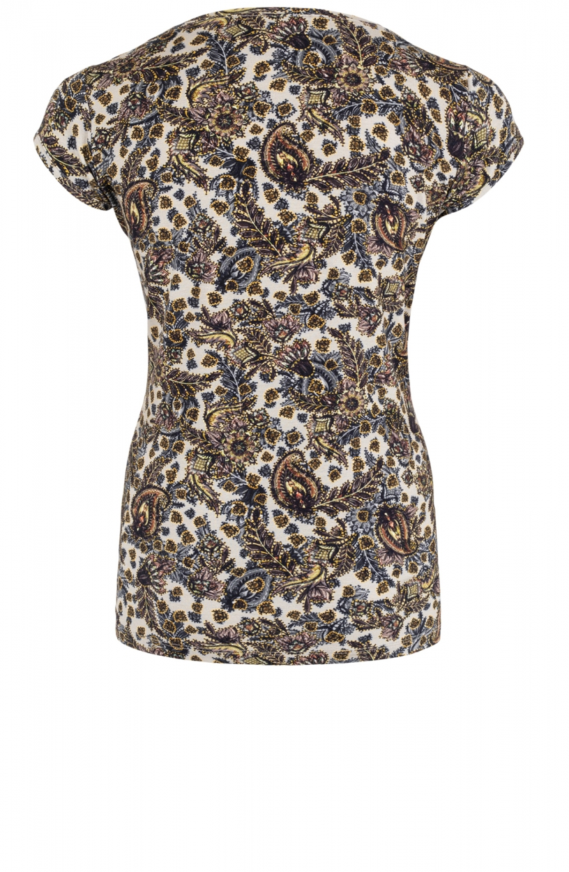Geisha Dames Kate shirt Bruin