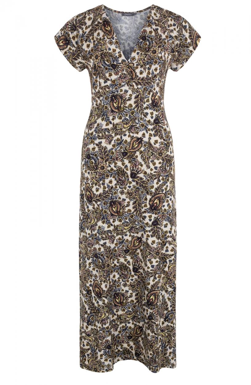 Geisha Dames Jane maxi jurk Zwart