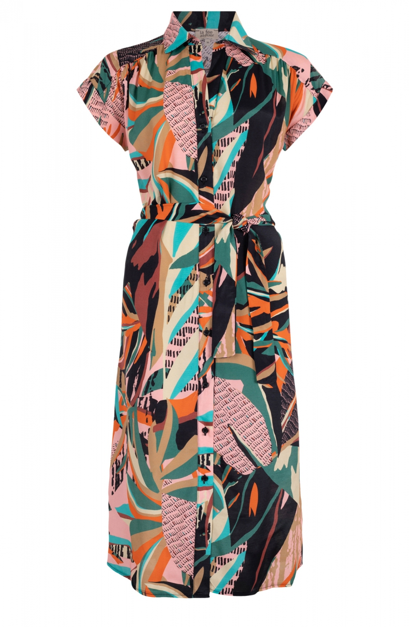 La Fee Maraboutee Dames Lorelei jurk Zwart