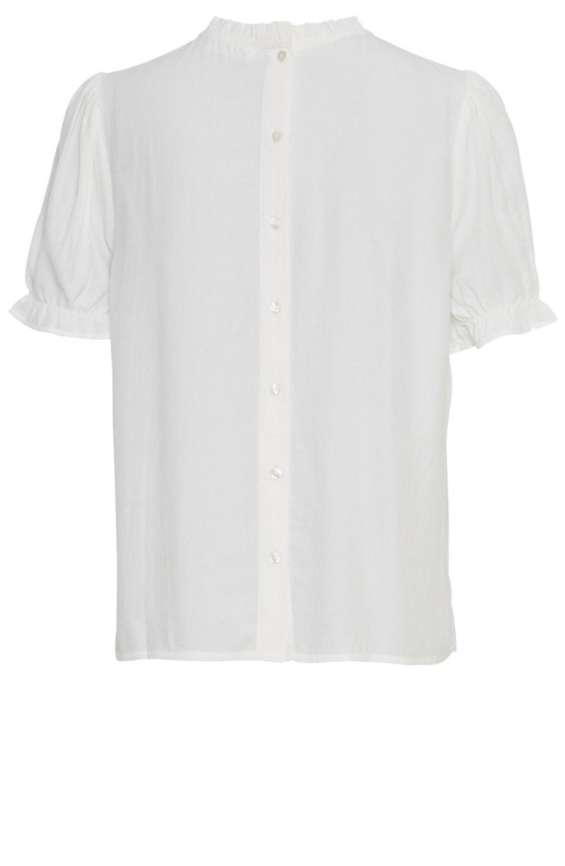 Moss Copenhagen Dames Nanelle blouse Wit