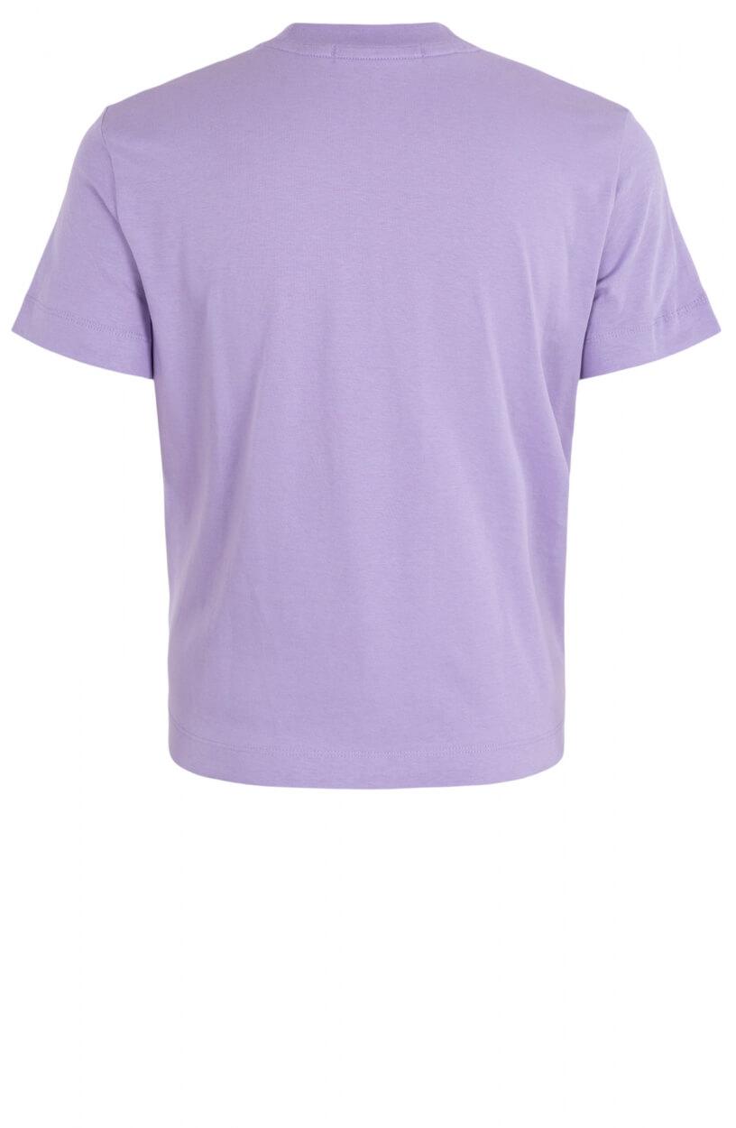 Calvin Klein Dames Printlogo shirt Paars
