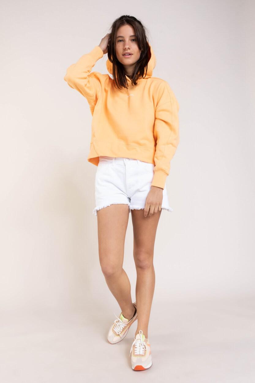 Calvin Klein Dames Hoodie met capuchon Oranje