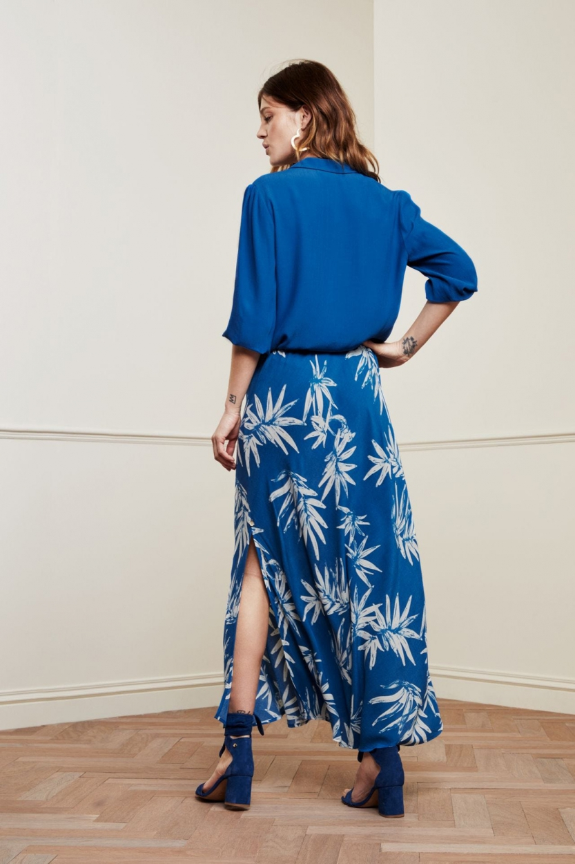 Fabienne Chapot Dames Sina rok Blauw