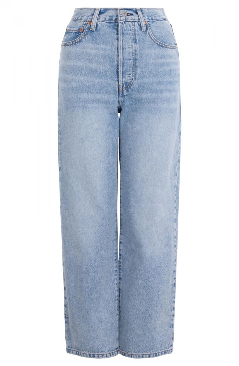 Levi's Dames Ribcage jeans Blauw