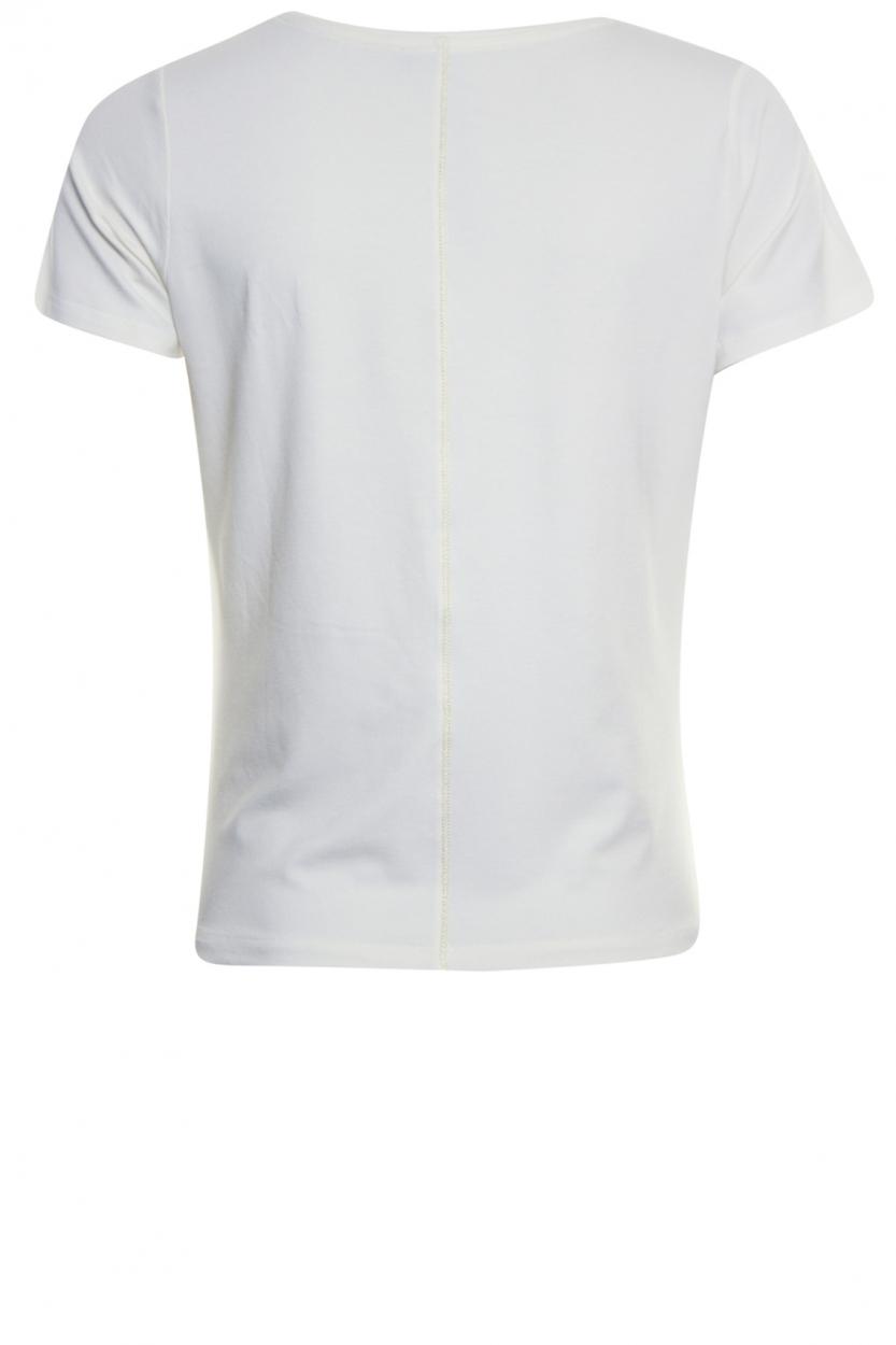 Poools Dames Shirt met artwork Wit