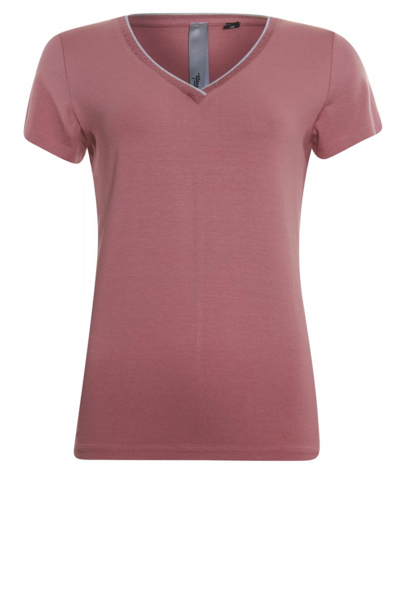 Poools Dames Shirt met lurex Roze
