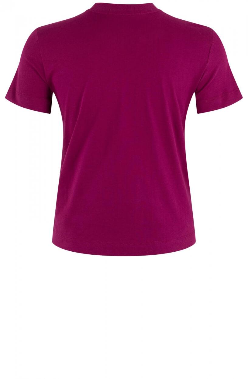 Calvin Klein Dames Shirt met logoprint Rood