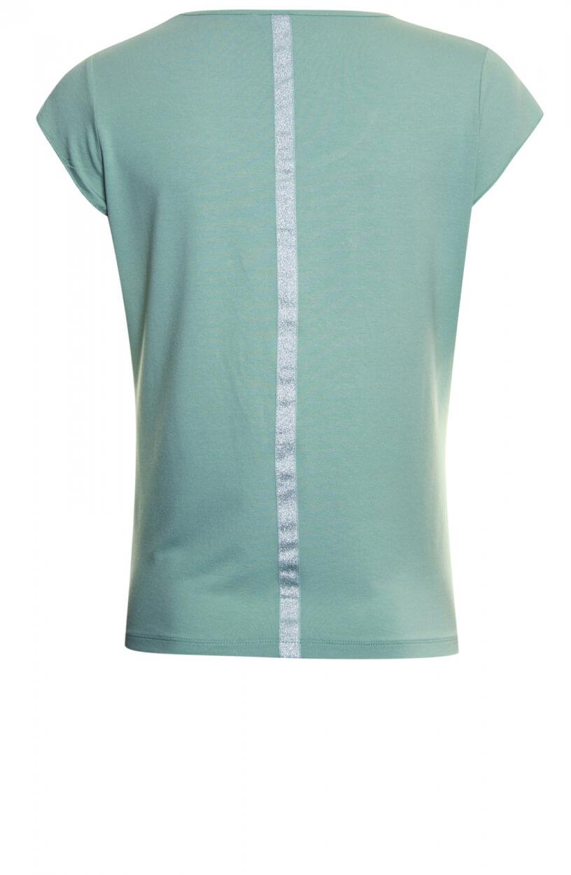 Poools Dames Shirt met opdruk Groen