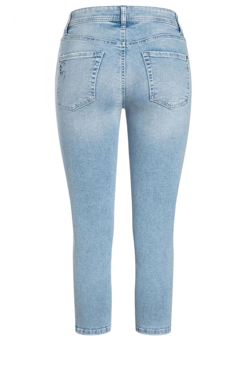 Cambio Dames Parla 7/8 jeans Blauw
