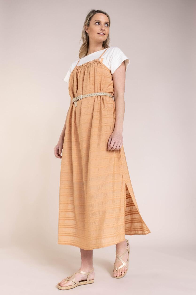 Object Dames Rafia jurk Roze