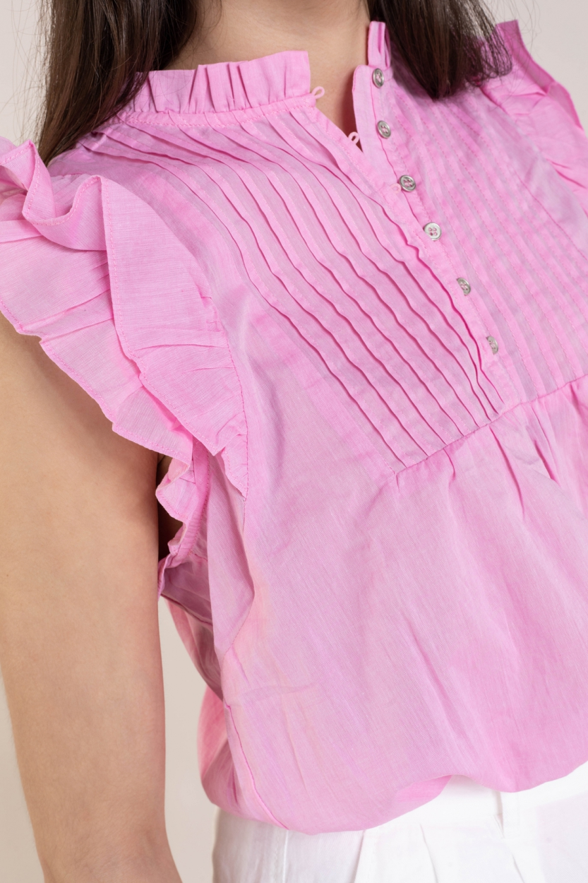 Co Couture Dames Sissa blouse Roze