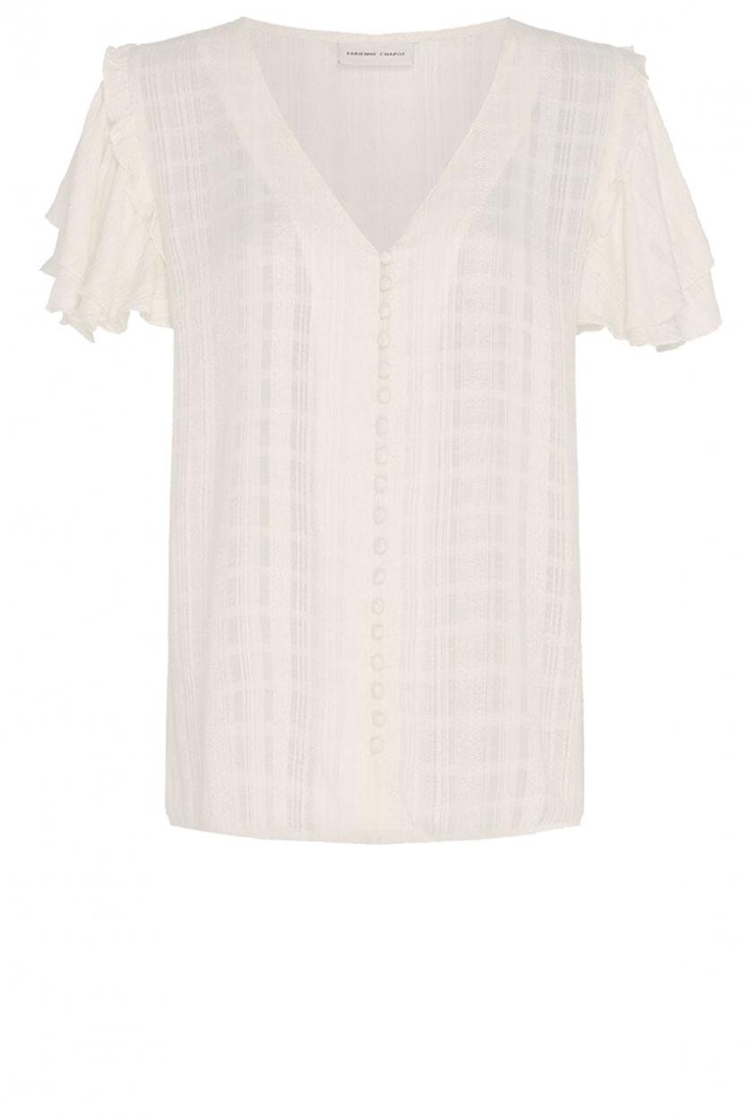 Fabienne Chapot Dames Leo Summer blouse Wit