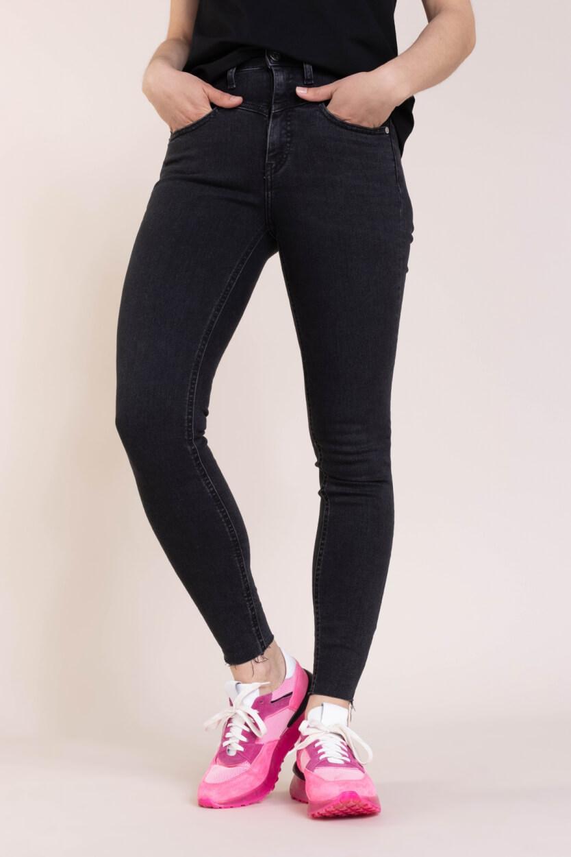 Calvin Klein Dames High rise skinny Zwart