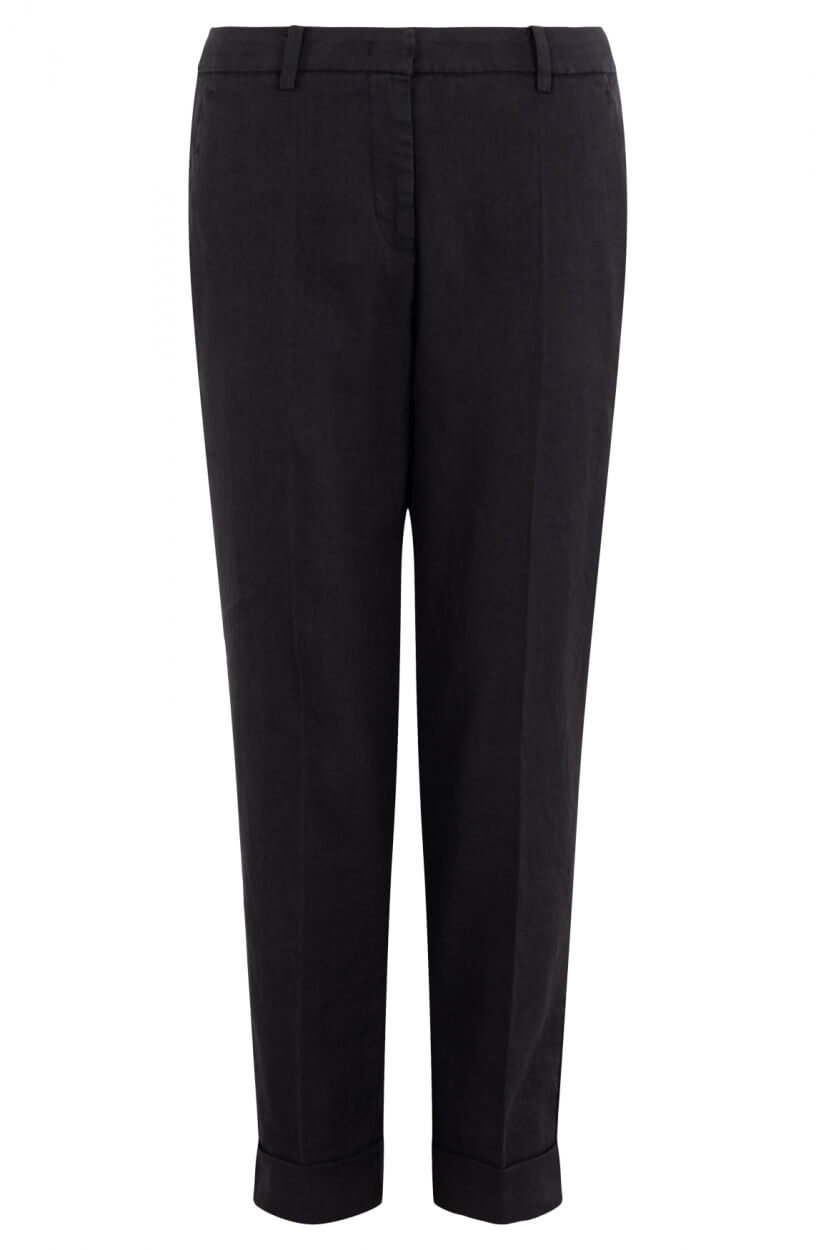 Cambio Dames Krystal pantalon Zwart