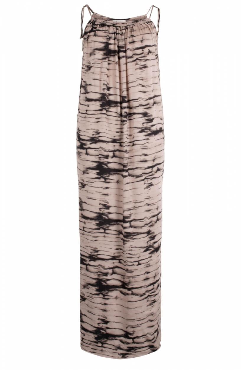 Levete Room Dames Noelle jurk Bruin