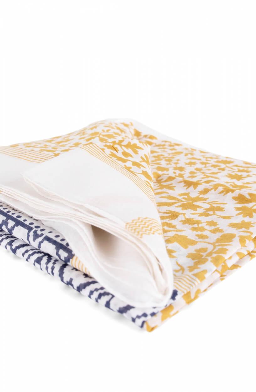 Zo Dames Sjaal met variërende print Geel