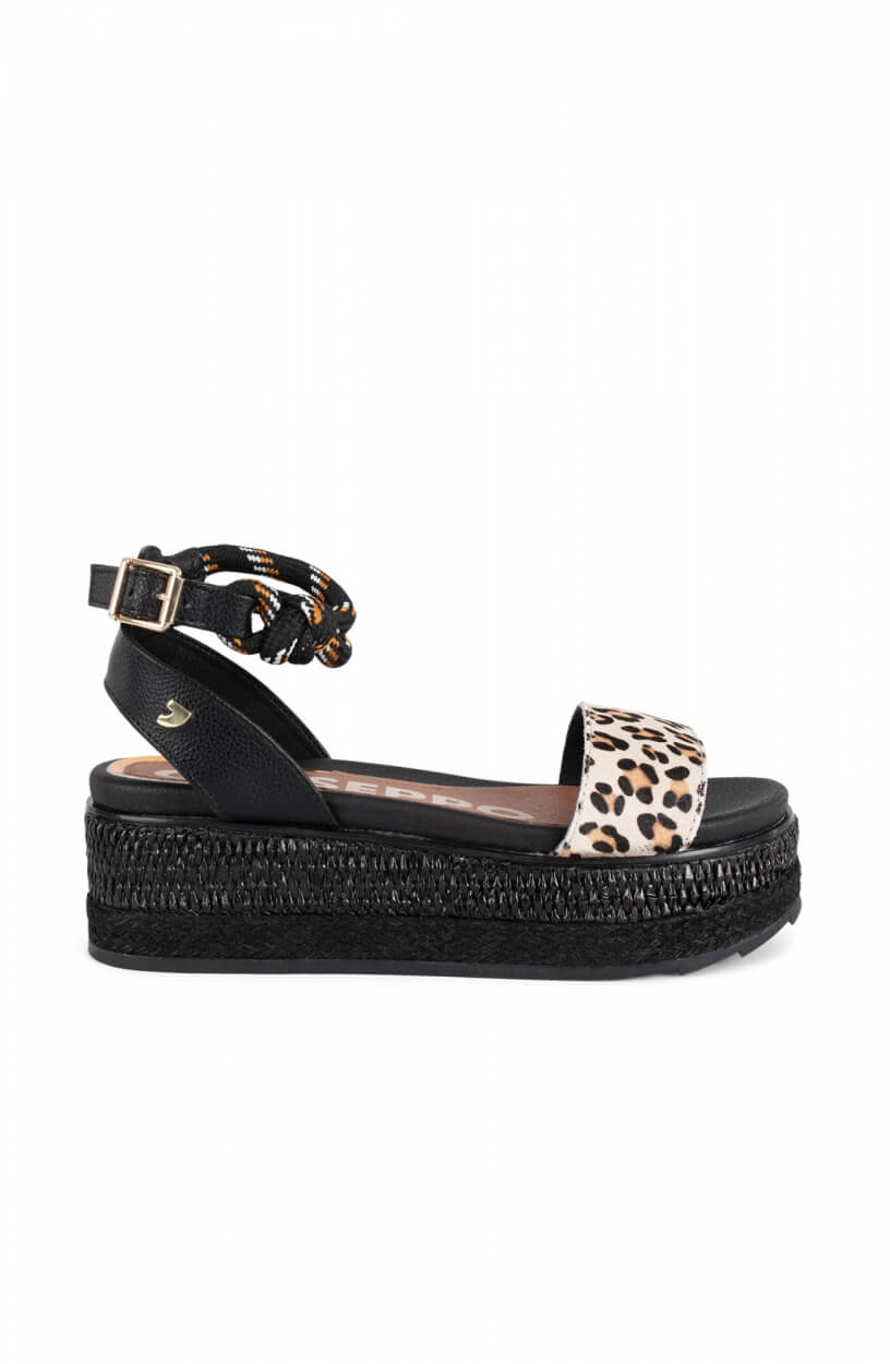 Gioseppo Dames Deaver sandaal Zwart