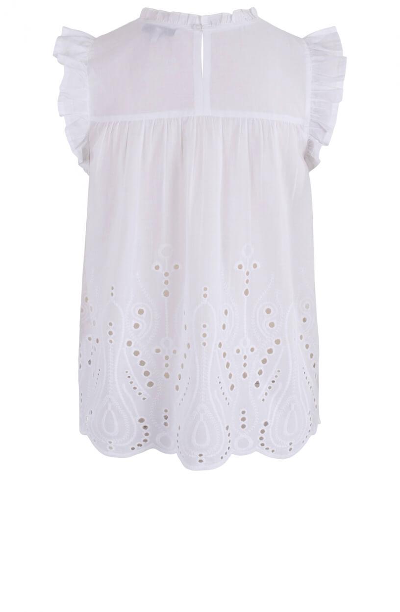 Nümph Dames Nualgra blouse Wit