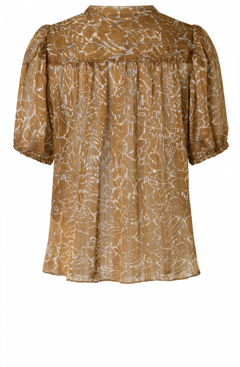 Second Female Dames Fijito blouse Bruin