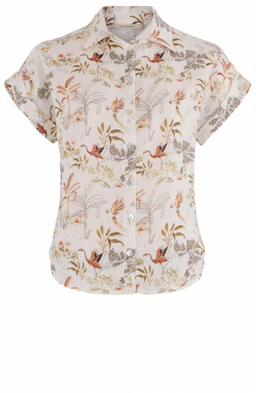 La Fee Maraboutee Dames Nanda blouse Wit