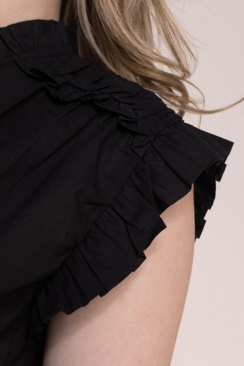 Nümph Dames Nuilly blousetop Zwart