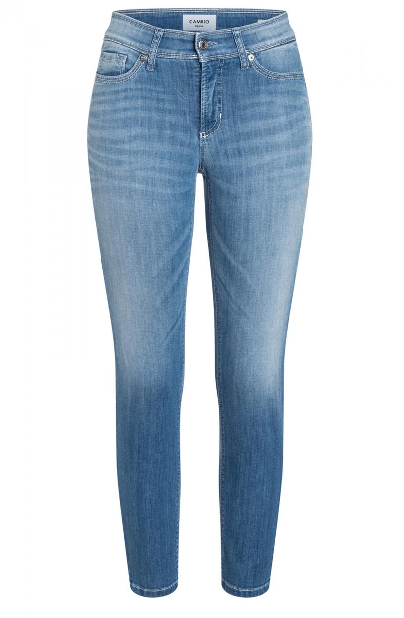 Cambio Dames Piper jeans Blauw