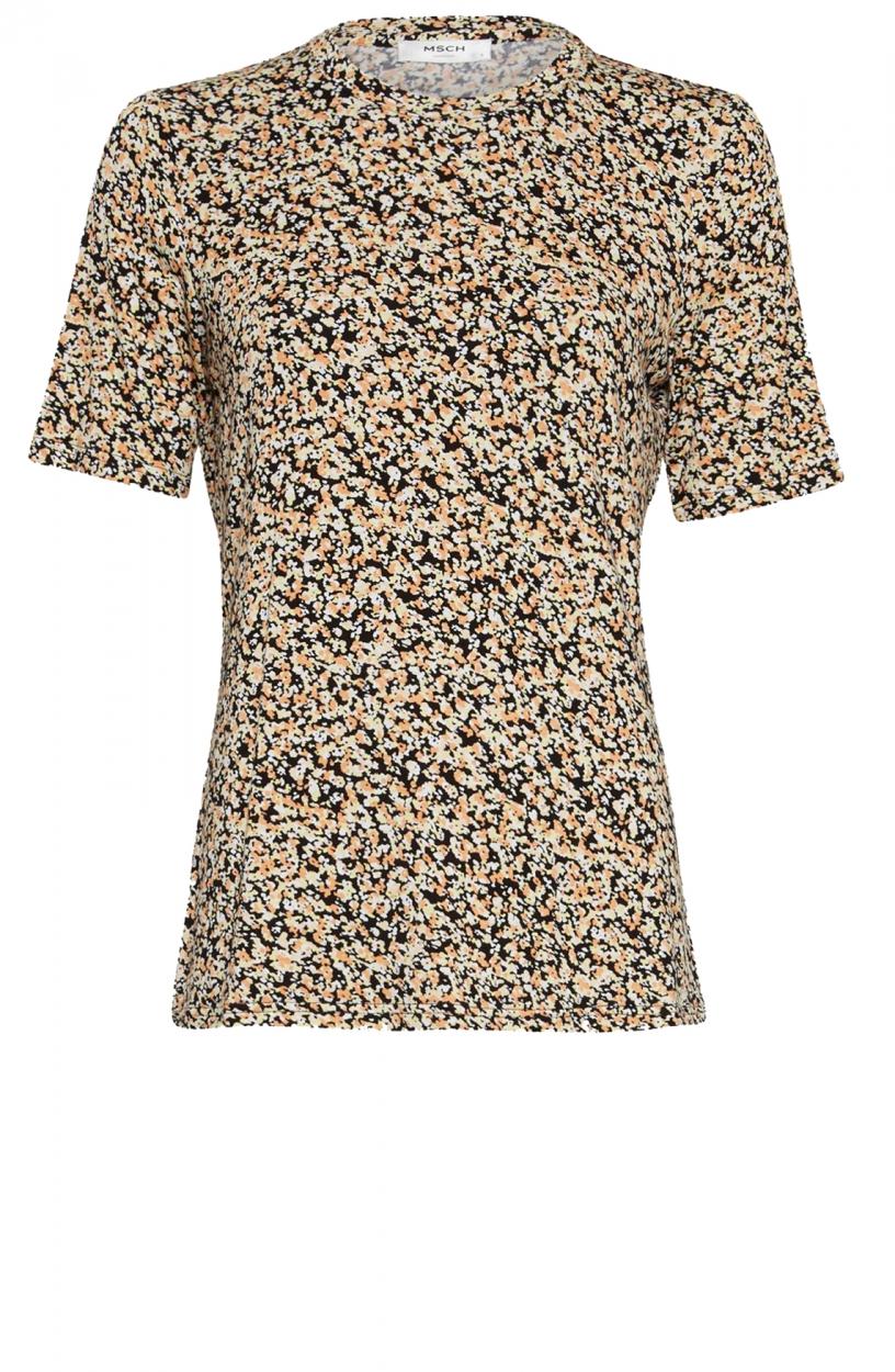 Moss Copenhagen Dames Mabea shirt Zwart
