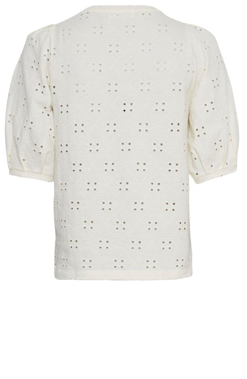 Moss Copenhagen Dames Karissa shirt Wit