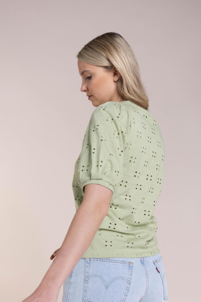 Moss Copenhagen Dames Karissa shirt Groen