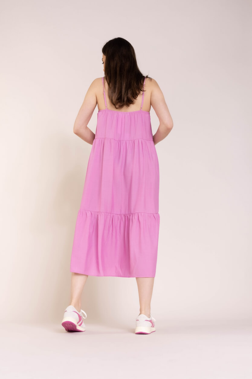 Co Couture Dames New Gipsy jurk Roze